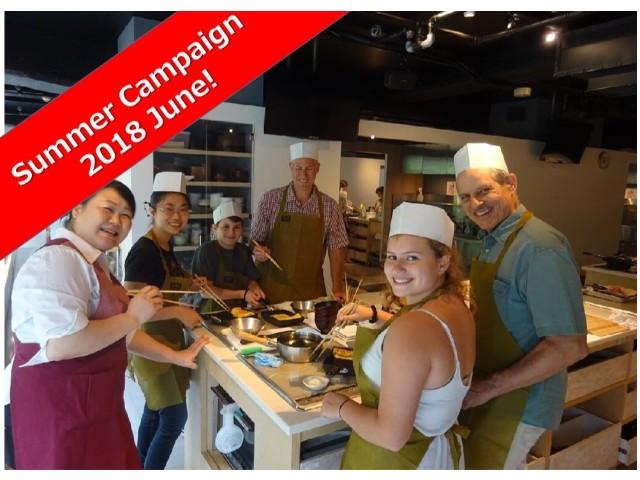 Tsukiji Fish Market Tour + Sushi Roll Cooking