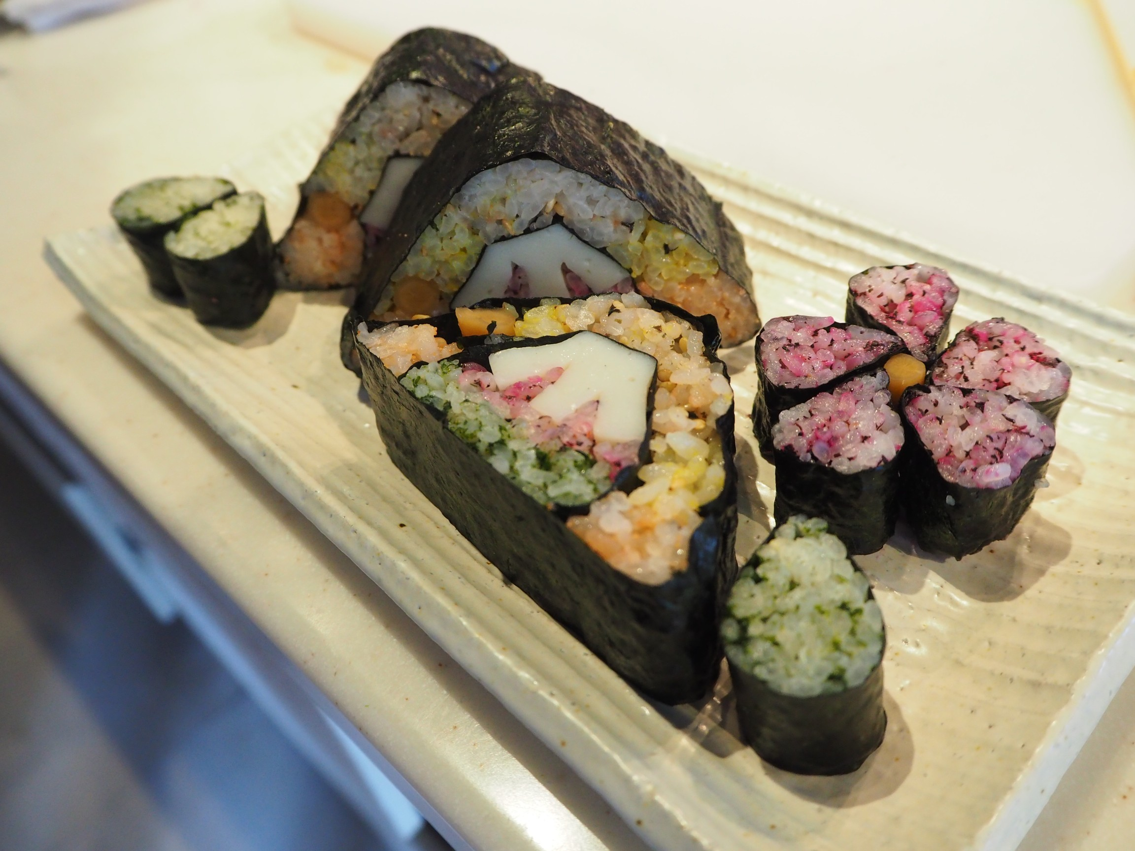 [AM] Nihonbashi Best of Japan Gourmet Tasting Tour + Rolled Sushi Cooking Class