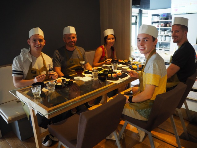 Tsukiji x Cooking Tour - local guided tour with sushi making class
