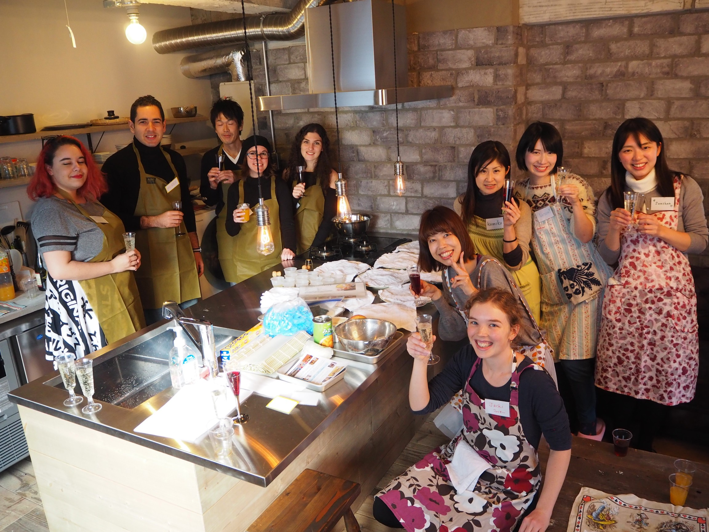 Let's cook together while enjoying cross-culture experience!
