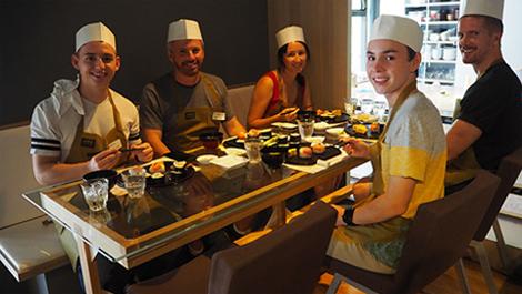 食を通じて、日本を体験。英語アクティビティをご用意